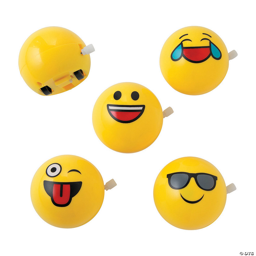 Flipping Emoji Wind-Ups