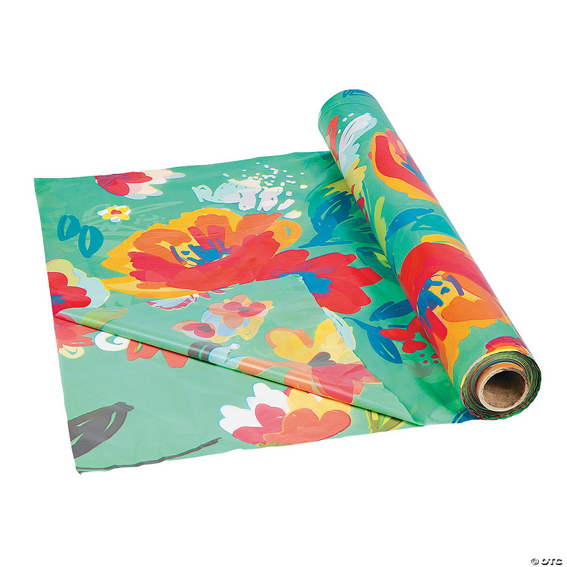 Floral Tablecloth Roll