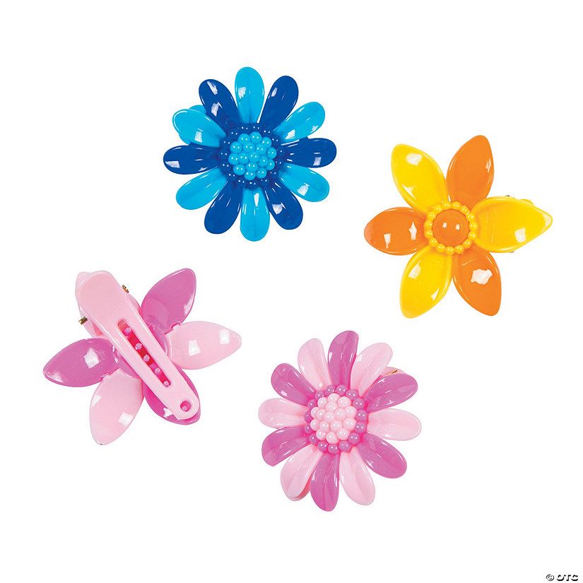 Flower Hair Clip Assortment
