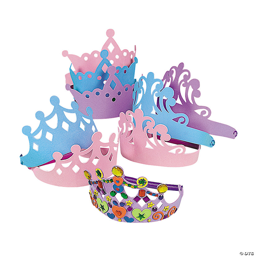 Foam Tiara Assortment
