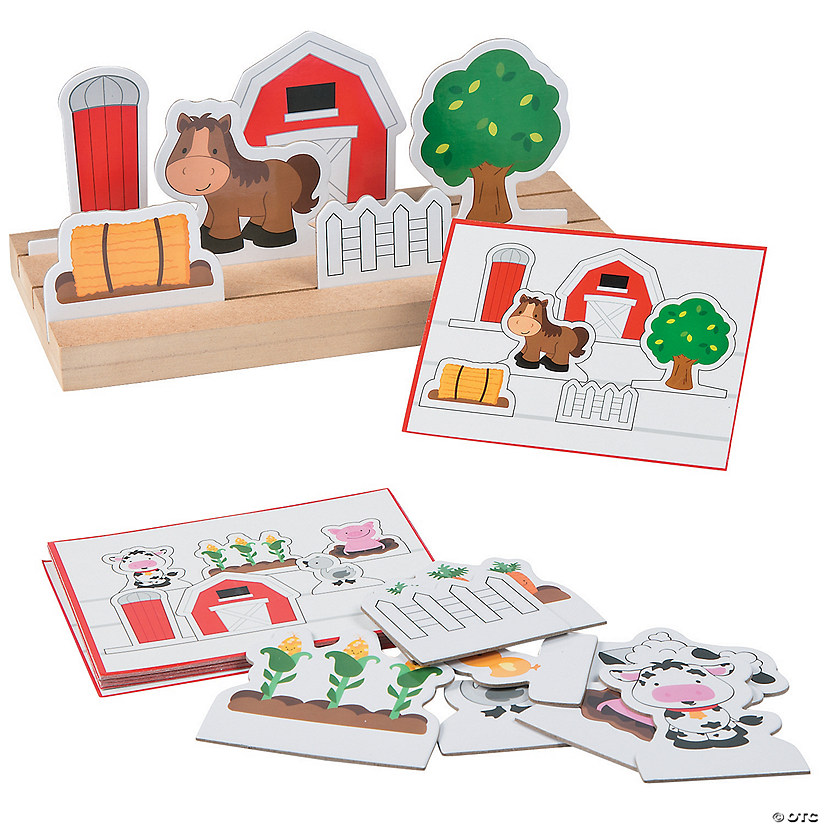 Following Directions Farm  Educational Game