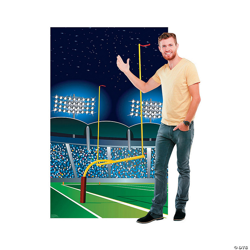 Football Goal Post Stand-Up