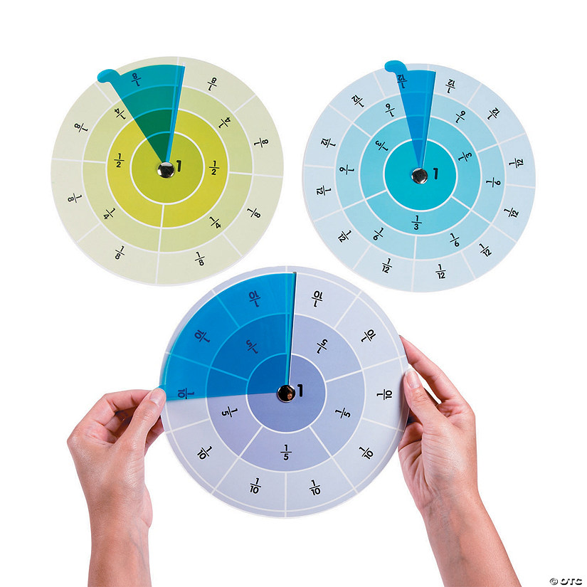 Fraction Learning Wheels