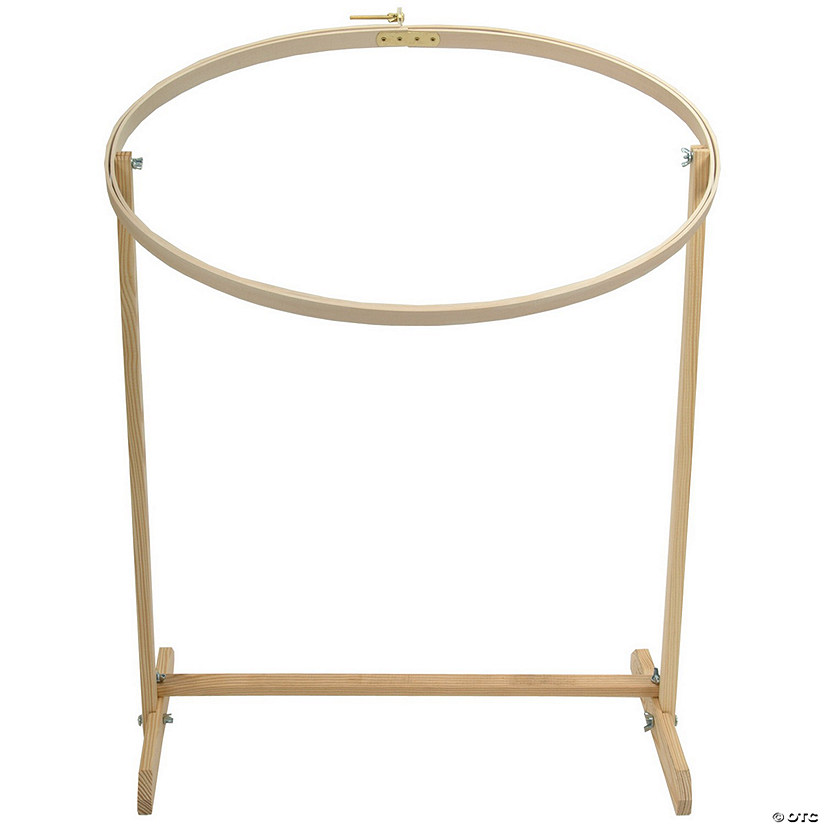 Frank A. Edmunds Wood Hoop & Floor Stand