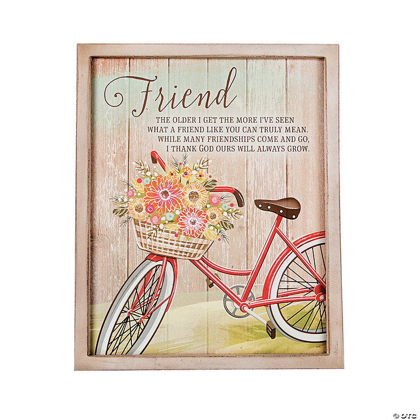 Friend Wall Plaque