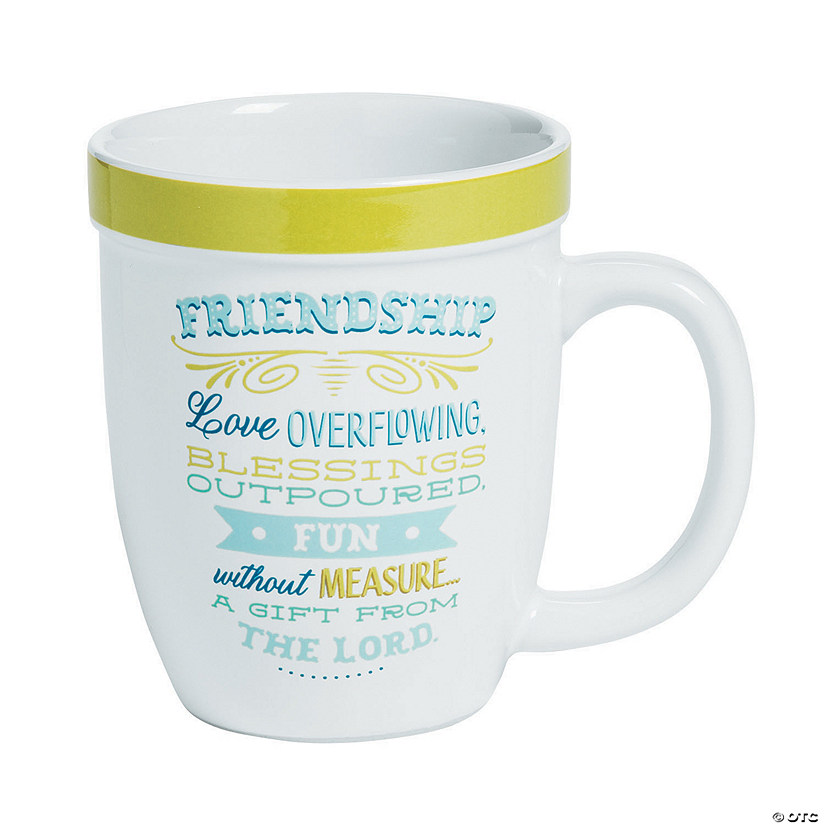 Friendship Café Ceramic Mug