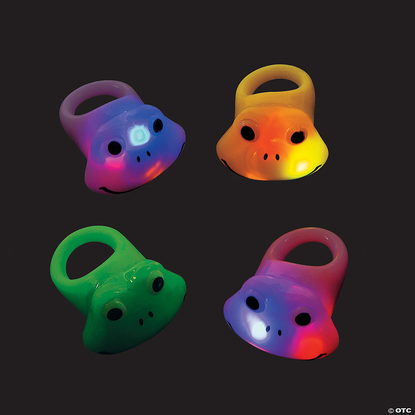 Frog Light-Up Rings