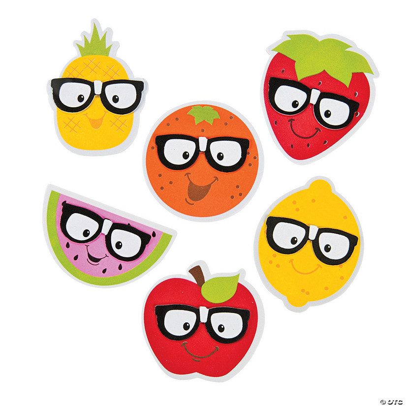 Funny Face Fruit Magnet Craft Kit