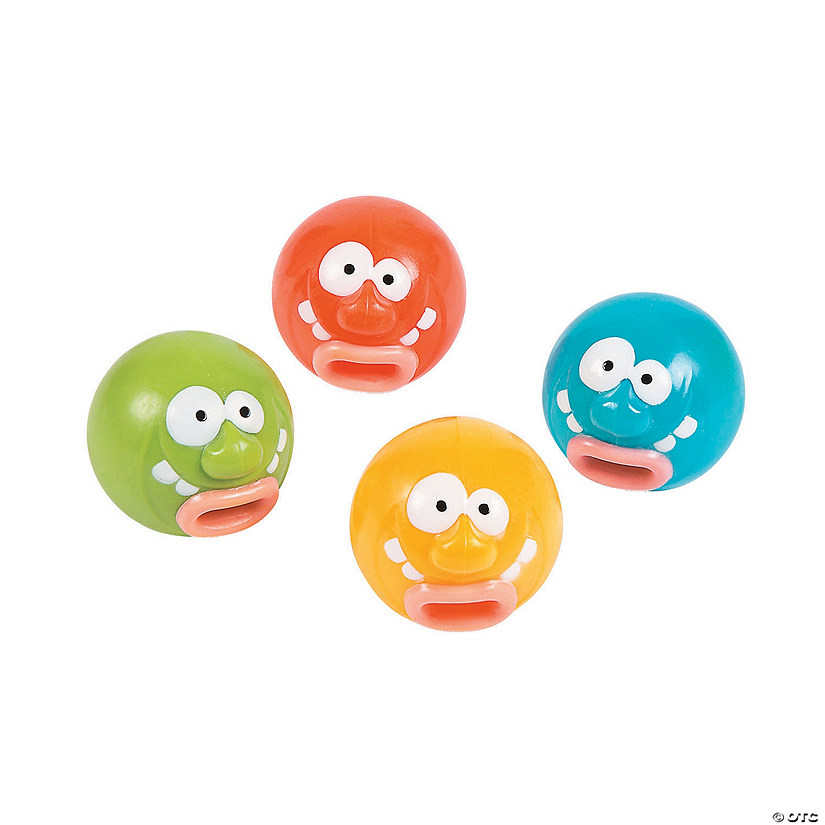 Funny Face Pop-Out Tongue Characters