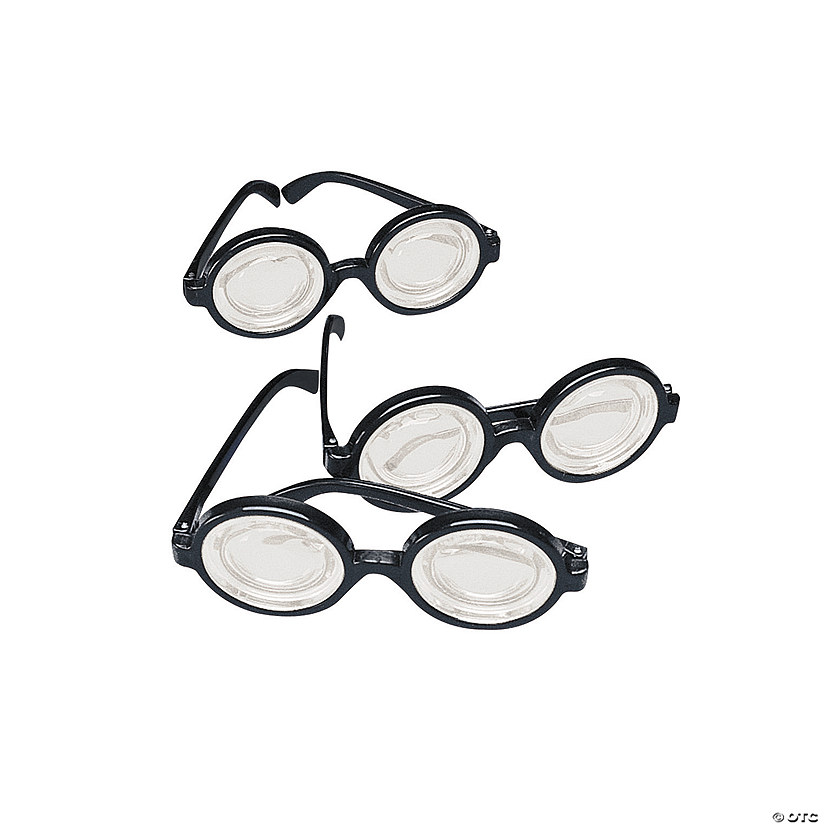 Funny Nerd Glasses
