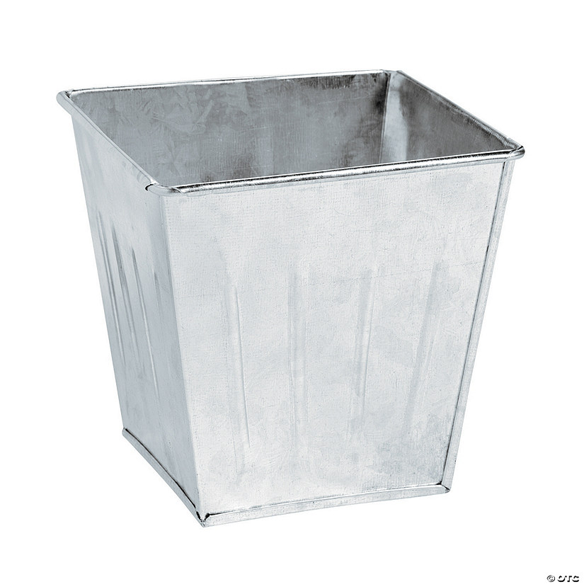 Galvanized Square Buckets