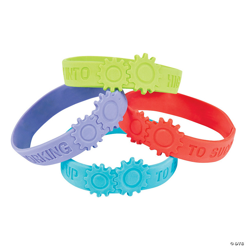 Gear Rubber Bracelets