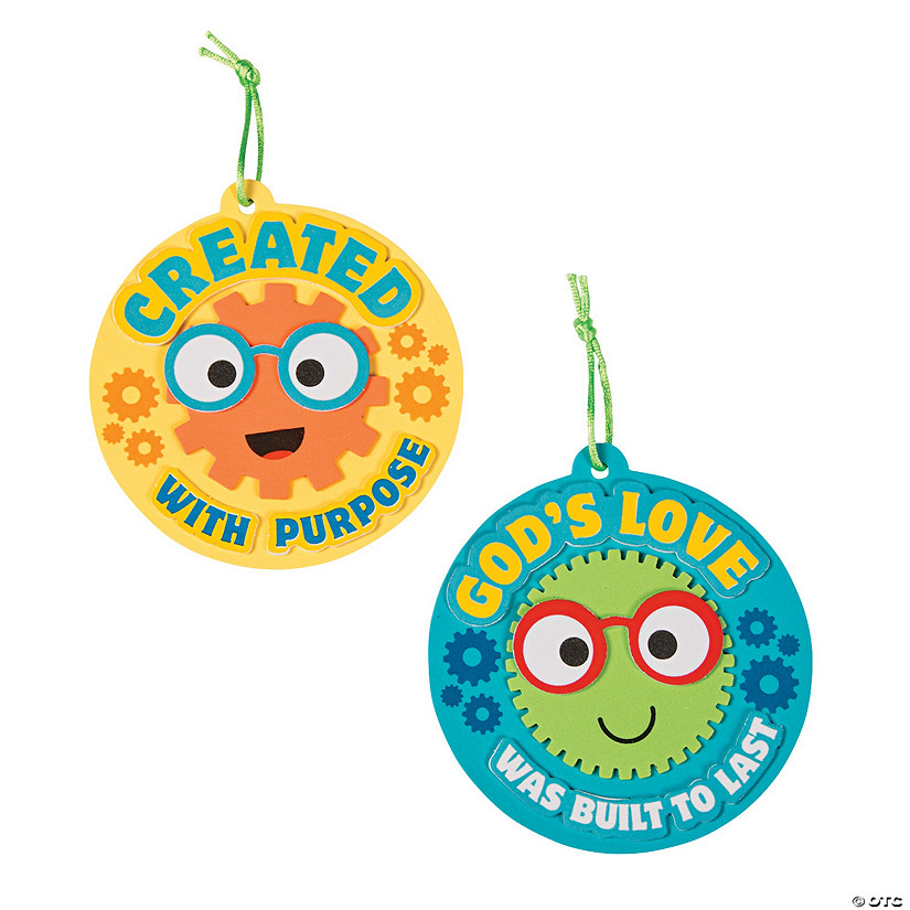 Geared Up for God VBS Ornament Craft Kit