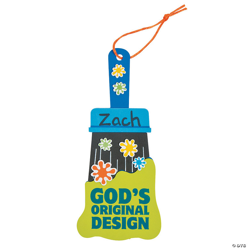 Geared Up For God VBS Paintbrush Sign Craft Kit