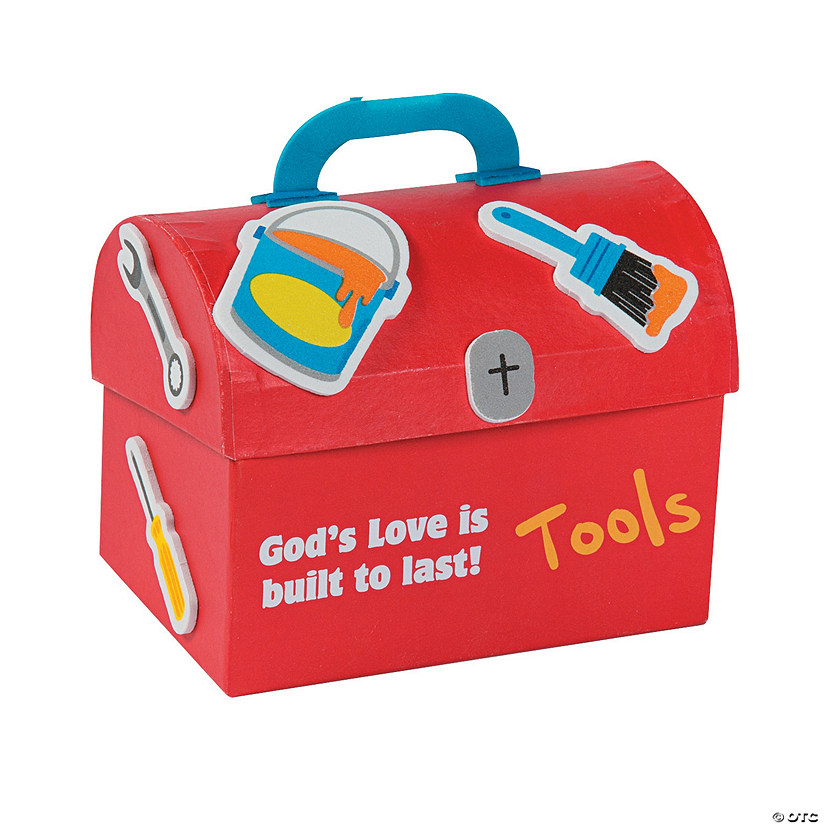 Geared Up for God VBS Prayer Box Craft Kit