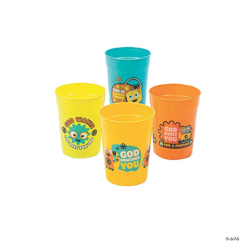 Geared Up for God VBS Tumblers