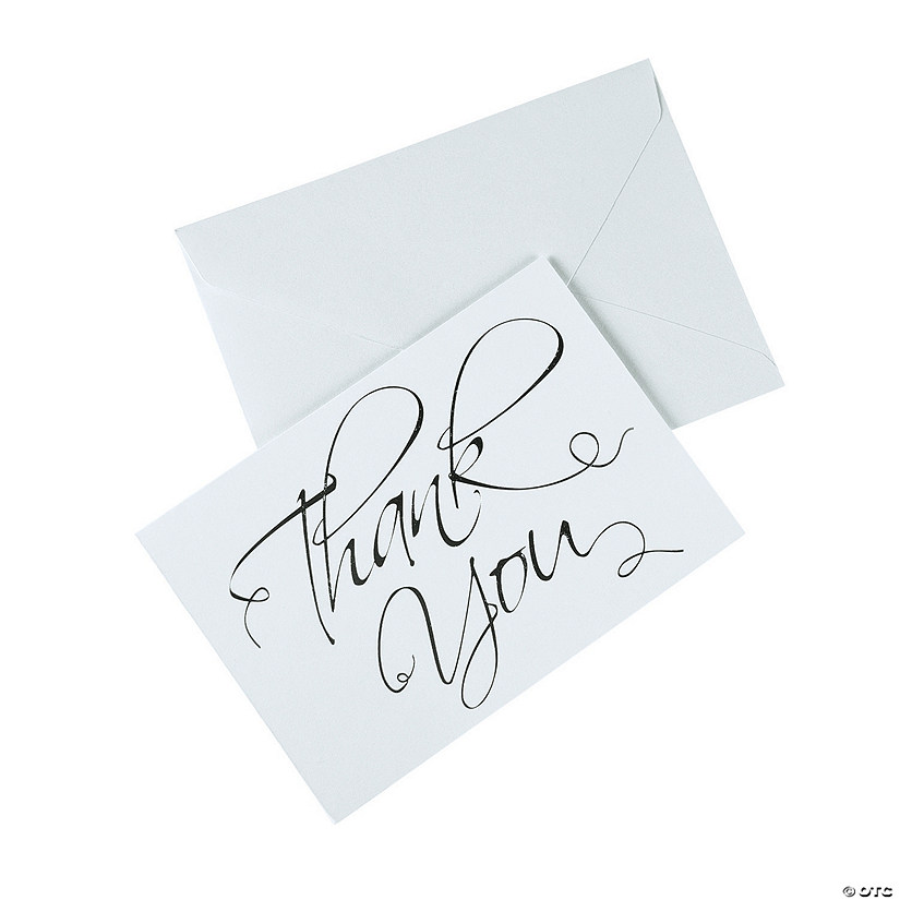 Generic Thank You Cards