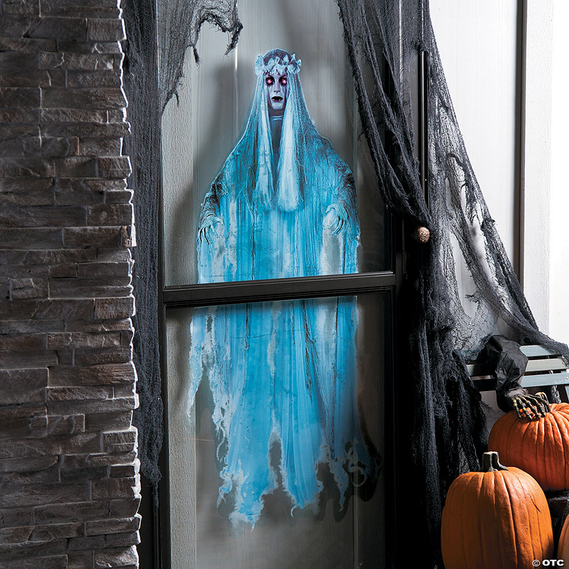 Ghost Lady Window Cling
