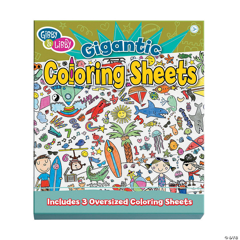 Gibby & Libby™ Gigantic Coloring Sheets