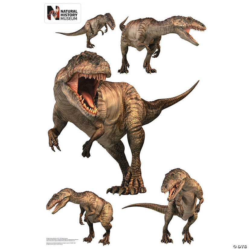 Giganotosaurus Layout Wall Jammer™ Wall Decal