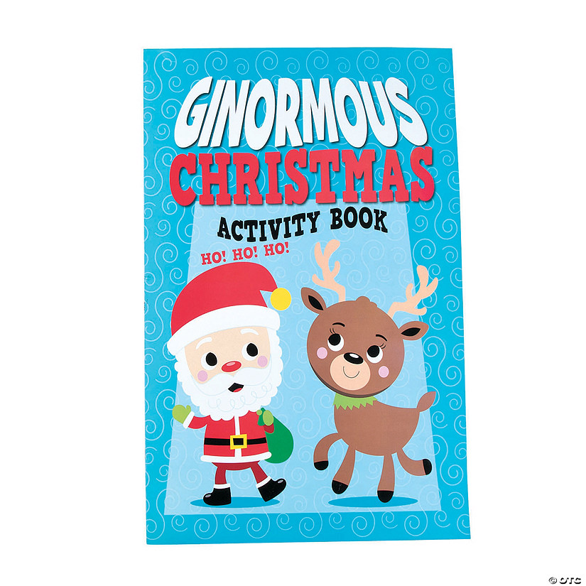 Ginormous Christmas Activity Books