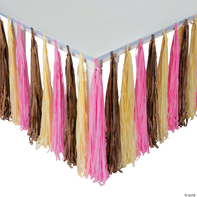 Girl Birthday Fringe Table Skirt