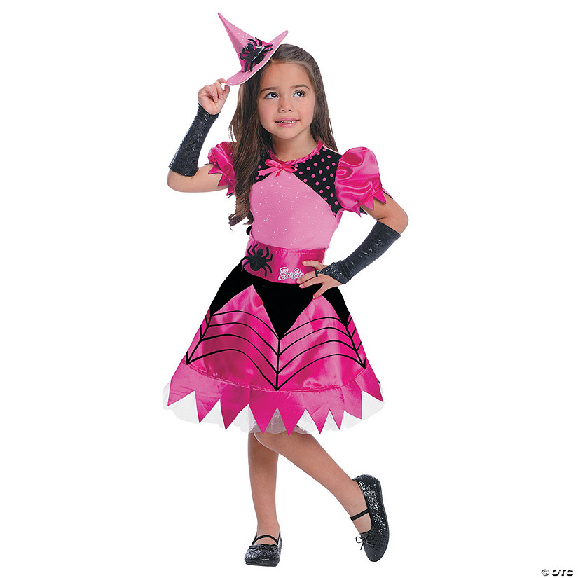 Girl's Barbie<sup>®</sup> Witch Costume