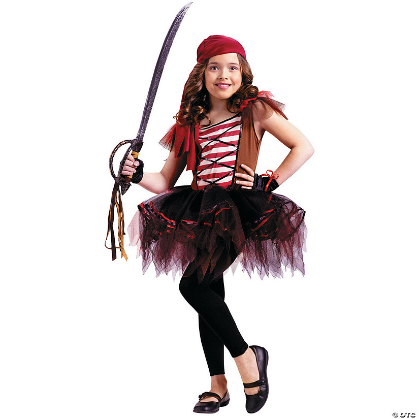 Girl's Batarina Pirate Costume
