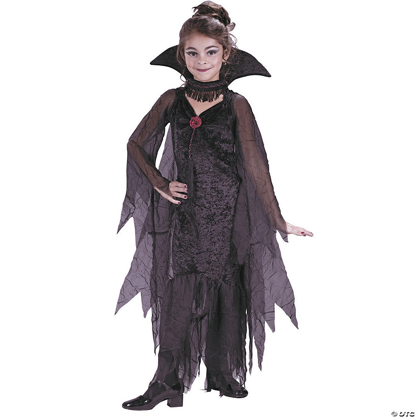 Girl's Daughter of Darkness Vampire Costume