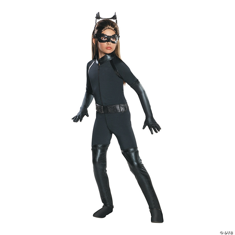 Girl's Deluxe Catwoman™ Costume