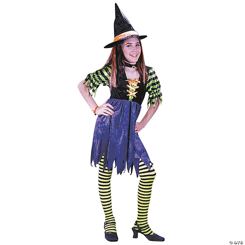 Girl's Fairy Tale Witch Costume