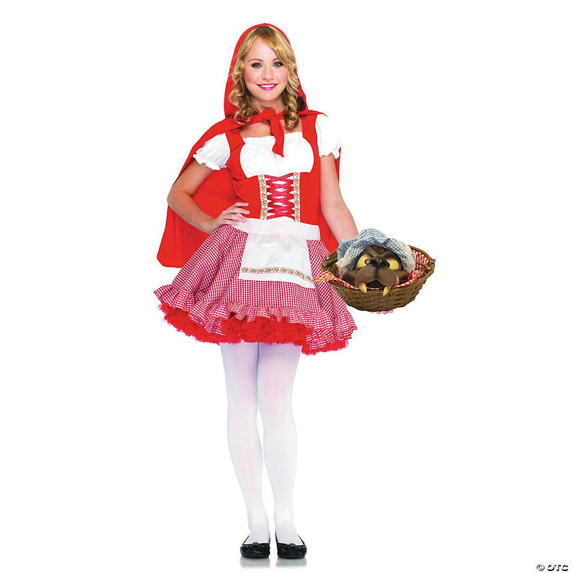 Girl's Lil' Miss Red Riding Hood Costume