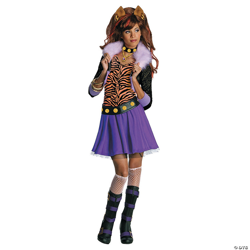 Girl's Monster High™ Clawdeen Wolf Costume