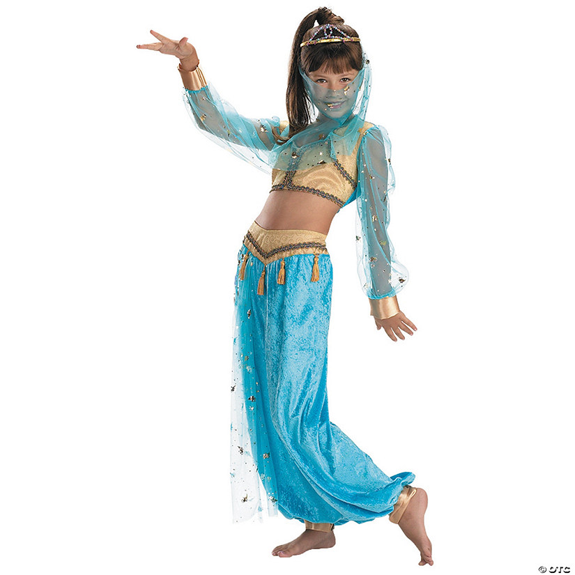 Girl's Mystical Genie Costume