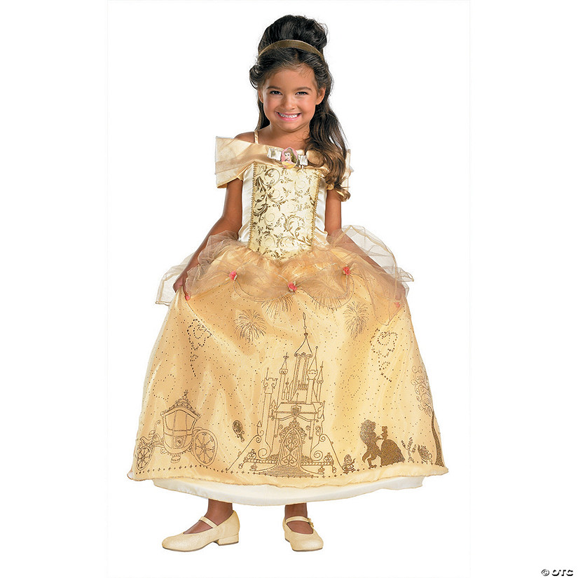 Girl's Prestige Disney's Beauty & the Beast™ Belle Costume