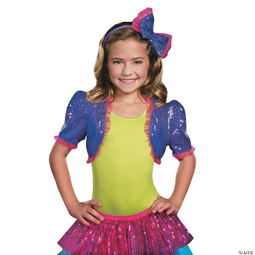 Girl's Purple Dance Craze Bolero Costume