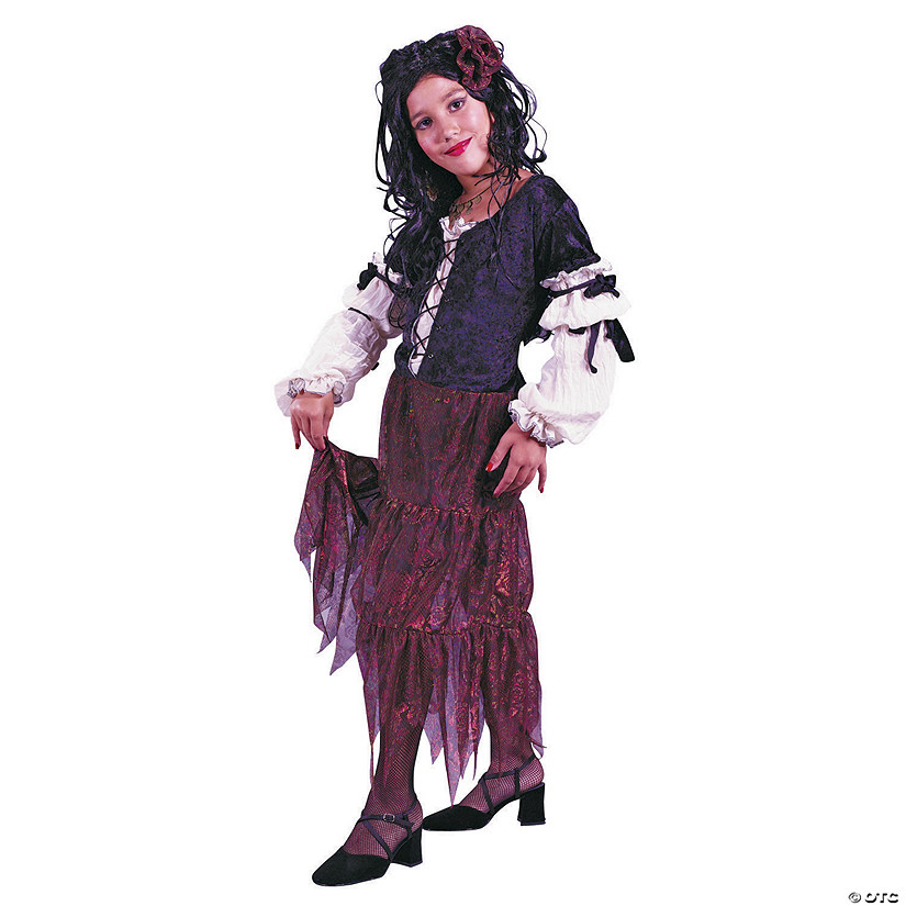 Girl's Rose Gypsy Costume