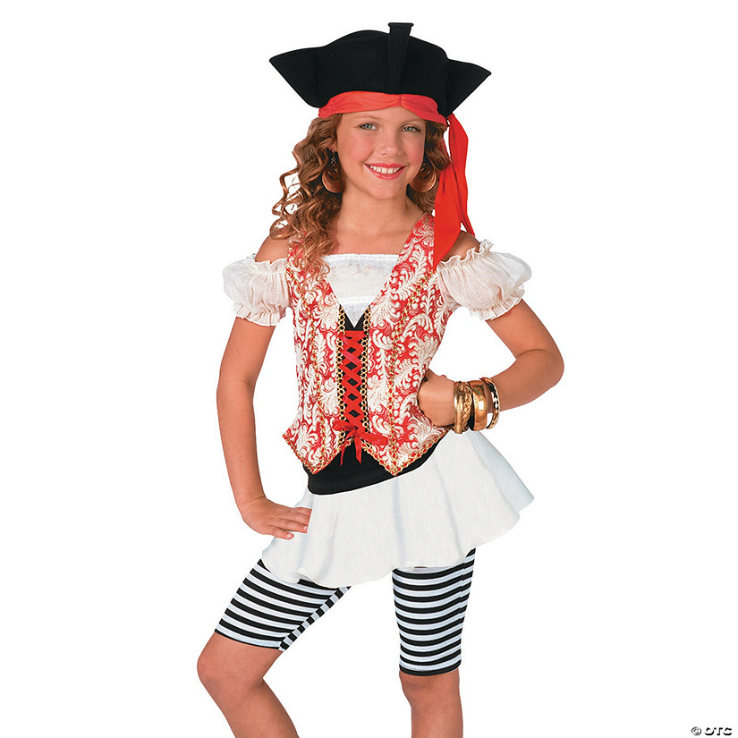Girl's Swashbuckler Pirate Costume