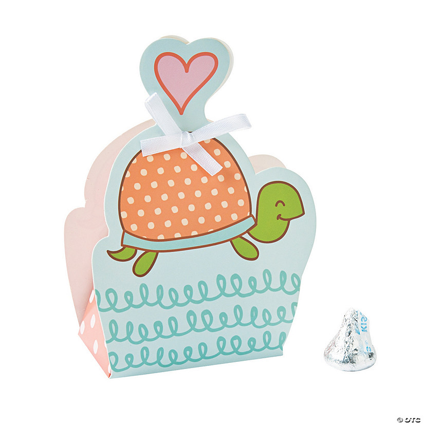 Girl Turtle Favor Boxes