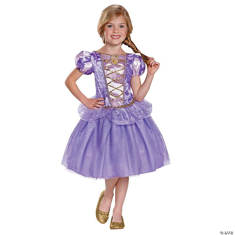 sc 1 st  Oriental Trading & Girlu0027s Classic Disneyu0027s Tangled™ Rapunzel Costume
