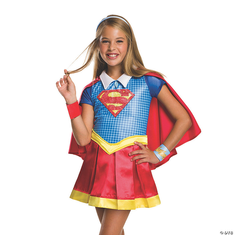 sc 1 st  Oriental Trading : deluxe supergirl costume  - Germanpascual.Com