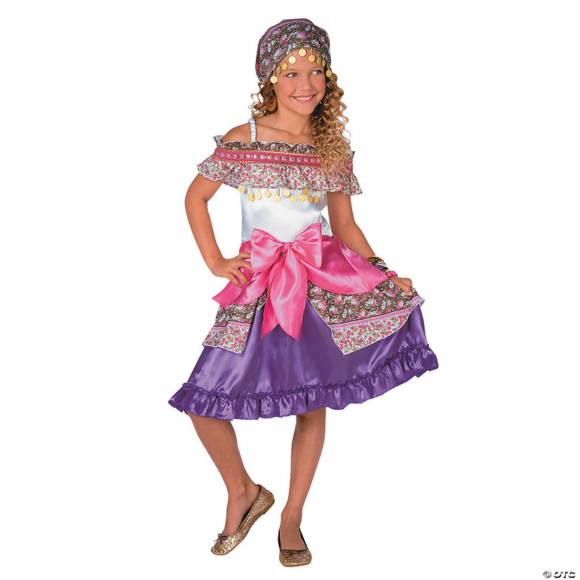 Girl's Deluxe Gypsy Costume