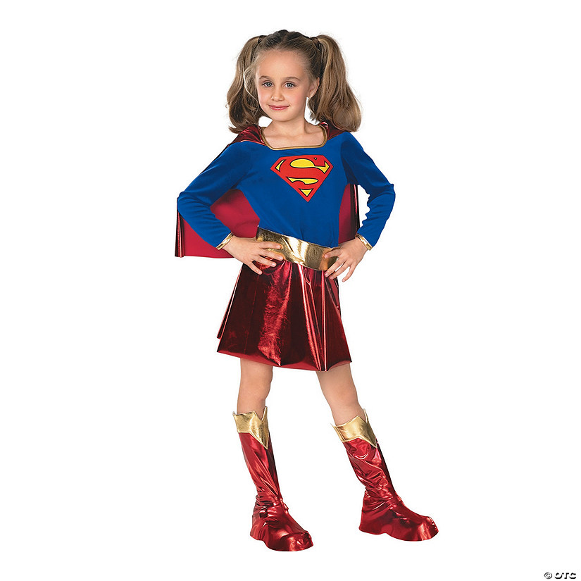 Girl's Deluxe Supergirl™ Costume