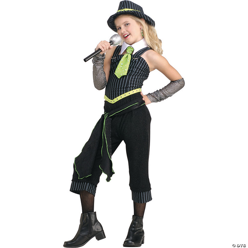 Girl's Gangster Moll Costume