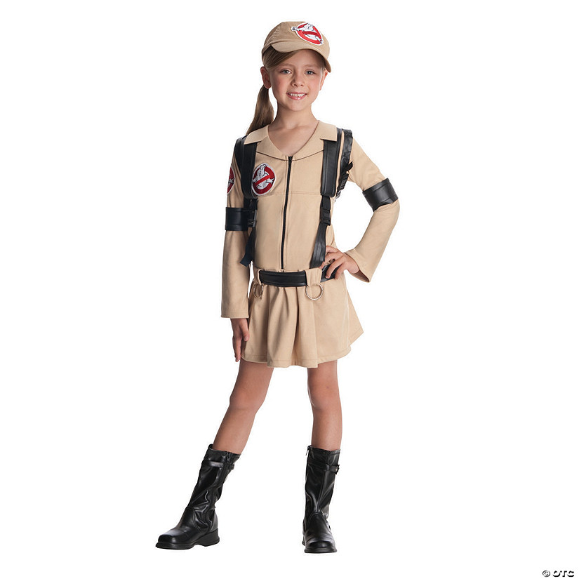 Girl's Ghostbusters Costume - Medium