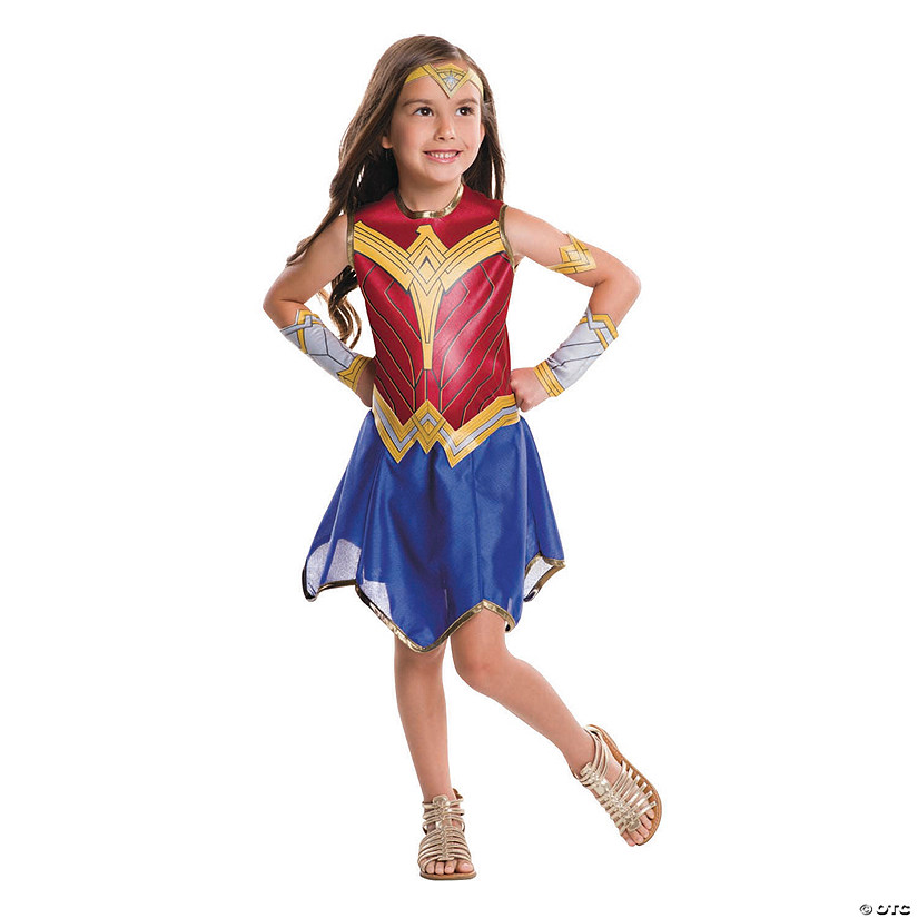 Girl's Justice League Wonder Woman Costume