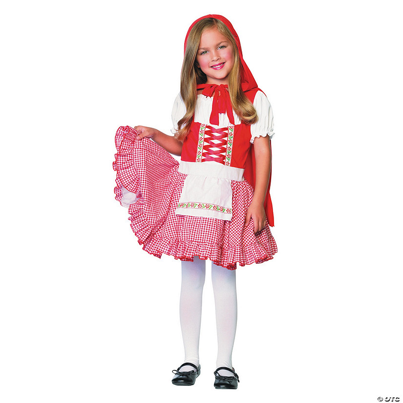 Girl's Lil' Miss Red Costume - Medium