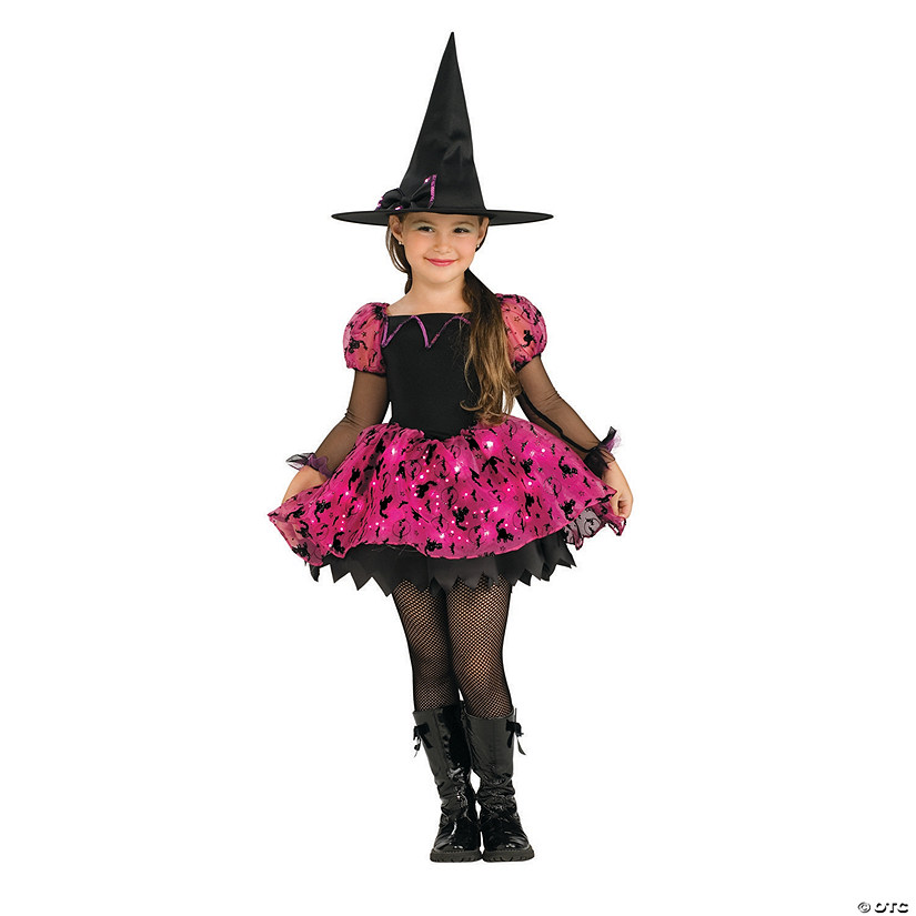 Girl's Moonlight Magic Witch Costume