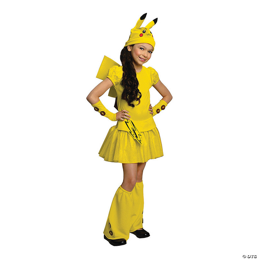 Girl's Pokémon Pikachu Costume