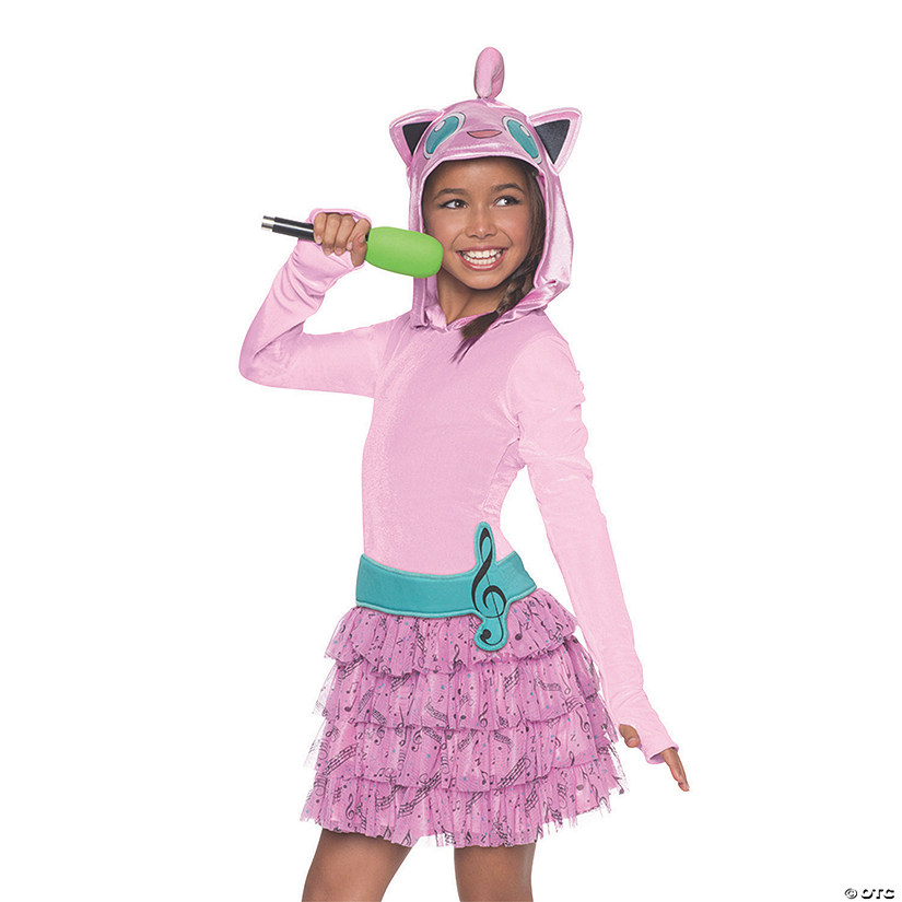 Girl's Pokemon Jiggly Puff Hoodie Dress Costume